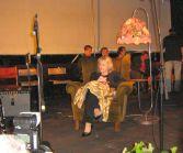 Eva Pilarová v křesle pro hosta