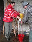 Proplachování střev horkou vodou