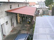 Pohled z terasy pokoje